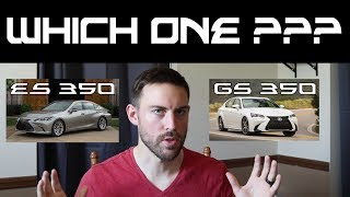 2019 ES 350 vs 2019 GS 350 | Which Lexus Sedan is Right For You?