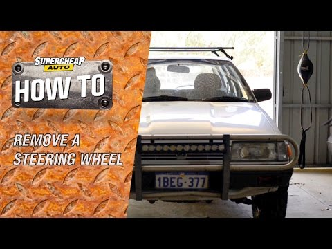 Removing a Steering Wheel // Steering Wheel Puller