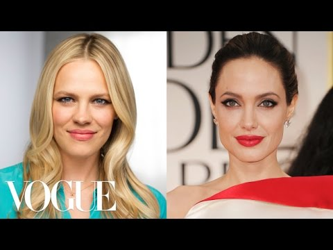 How to Get Angelina Jolie's Sultry Cat-Eye Look  - Beauty Icons - Style.com