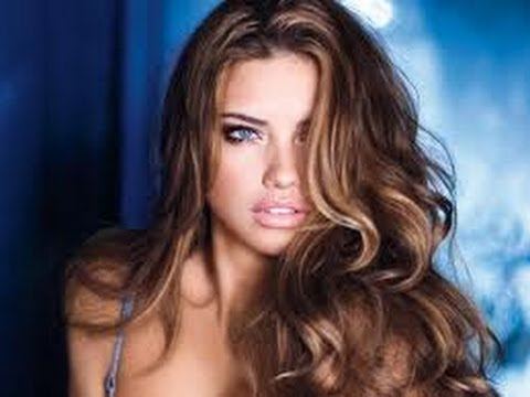 Peinado:ADRIANA LIMA Victoria Secret Ondas