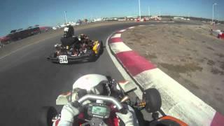 125cc Shifter Kart Racing at Dallas Karting Complex - Dave Ogburn