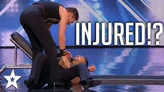 Judges Can't Believe What Happened After Fall! | America's Got Talent 2018 | Got Talent Global