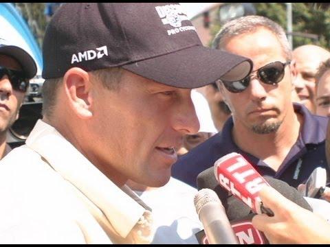 Lance Armstrong & Jake Gyllenhaal - 2006 Tour de France