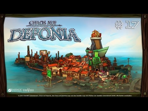 """Let's Play / Chaos on Deponia - #17: """"Voyage maritime !"""""""