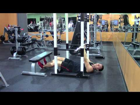 Inverted Rows Underhand - HASfit Back Exercise Demonstration - Supinat...
