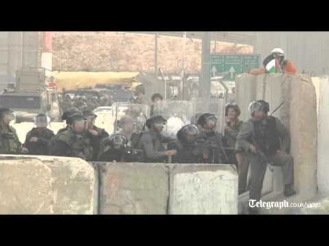 Clashes erupt in Ramallah as Mahmoud Abbas asks UN for Pales