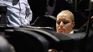 Exclusive: Valtteri Bottas Becomes a Silver Arrow!