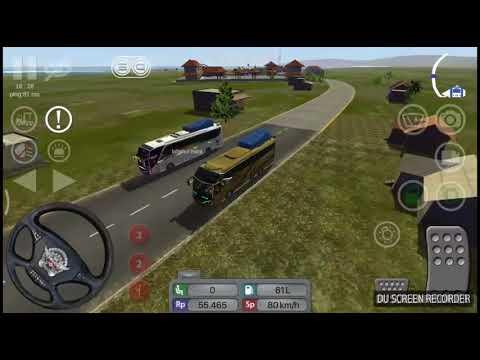 Bussid LIMBERSA XHD Custom Livery Game Simulator Android