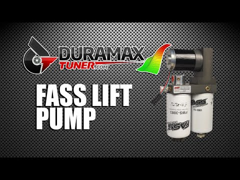 FASS Lift Pump by Duramaxtuner