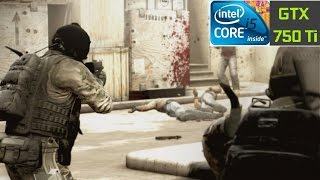 CS:GO - I5-4460 + GTX 750 TI [ULTRA SETTINGS, 60 FPS]