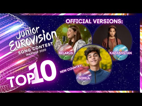 Junior Eurovision 2020 – MY TOP 10 – New: Serbia