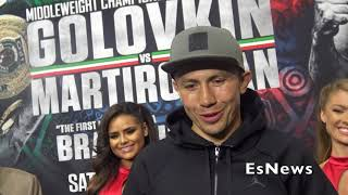 GGG quotI39m Tired Of All The Canelo Question Lets Just Fightquot EsNews Boxing