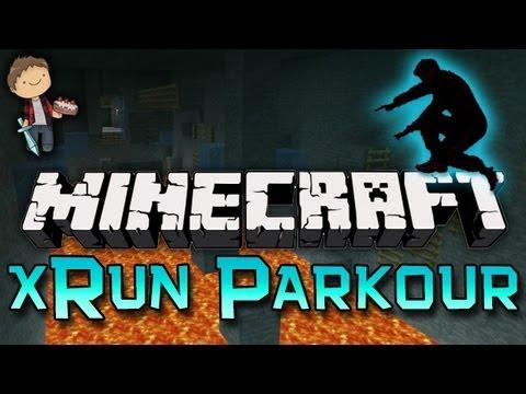 Minecraft: xRun Parkour RAGE Mini-Game Part 3! w/Mitch & Friends!