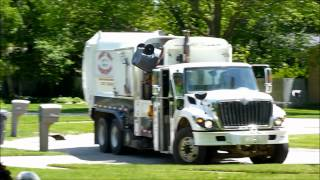 Best Way Disposal Garbage Truck - International WorkStar / Labrie Expert ASL
