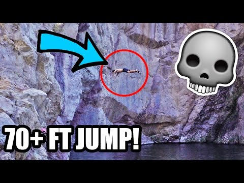 CLIFF JUMP GONE WRONG! *COUGHING UP BLOOD *