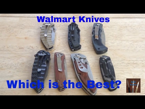 Walmart knife reviews                          Blade reviews