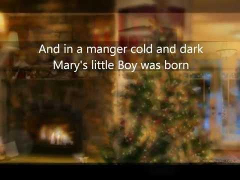 Marys little Boy Child with lyrics  Christmas 2014