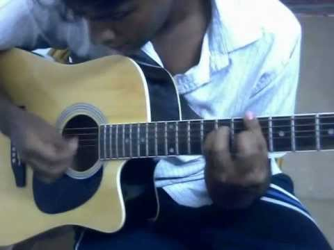 Nenjodu Cherthu Guitar video