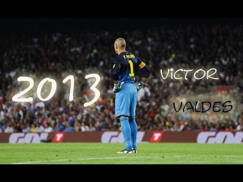 Víctor Valdés - Best Saves - 2013