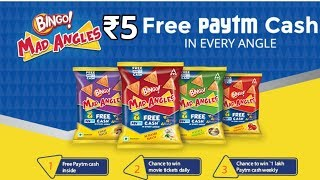 How to Get ₹5 Paytm Cash From Bingo Mad Angles Pack * Live Demo *