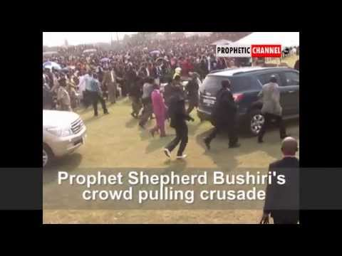 Shocking Video of Prophet Shepherd Bushiri