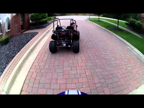 Baja Mini Bike V.S Hammerhead GTS 150 Off-Road Dune Buggy