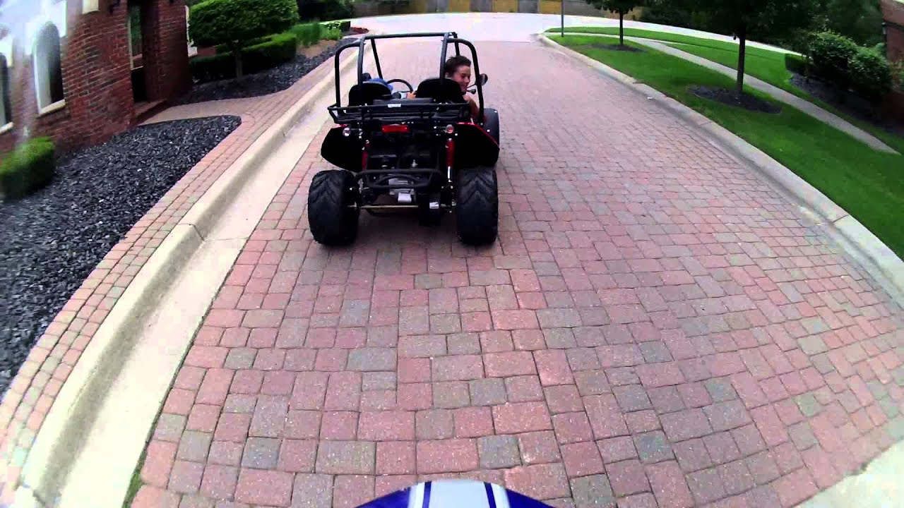 Baja Mini Bike V S Hammerhead Gts 150 Off Road Dune Buggy