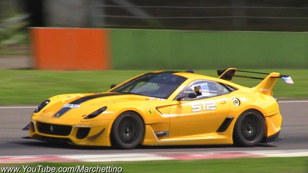 Ferrari 599xx Evo Insane Accelerations And Downshifts