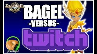 SUMMONERS WAR : Bagel -vs- Twitch (Goodwill RTA Battles)