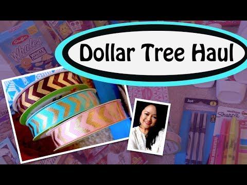 ♥︎ DOLLAR TREE HAUL ♥︎ February 18, 2018