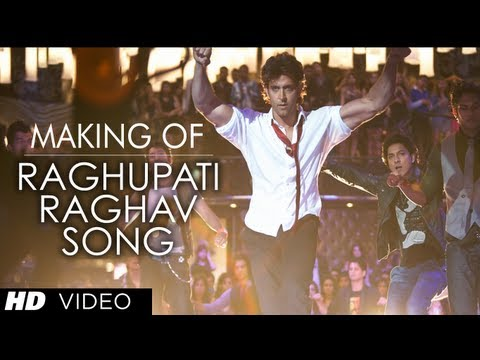 raghupati Raghav Krrish 3  Song Making | Hrithik Roshan, Priyanka Chopra video