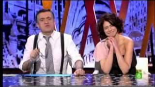 La actriz Cristina Peña se fue de El Intermedio sin averigüar si Franco era gay o no...