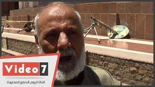 """اليوم السابع   بالفيديو.. أحد أبطال حرب أكتوبر يكشف استسلام جنود إسرائيليين خوفا من علبة """"فول"""""""