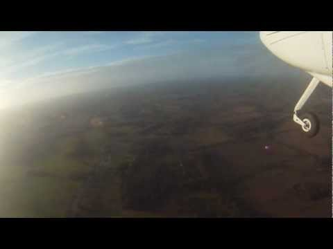 Rich Tyler - Last flight of the 2012 for G-GCDB