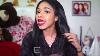 teala dunn lying about her hair for 2 minutes straight