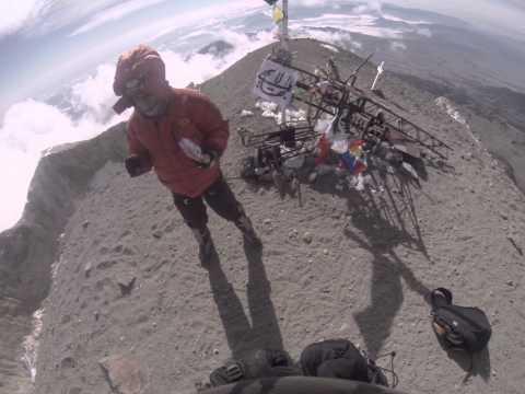 GOPRO Pico de Orizaba Summit 2015