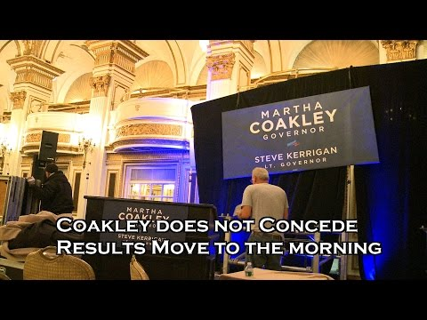 Mass. Gov. Race Martha Coakley does not concede , results on hold