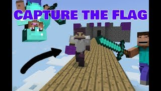 WE ALMOST MADE IT!! |MINECRAFT LIFEBOAT CAPTURE THE FLAG