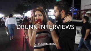 DT MCALLEN DRUNK INTERVIEWS (RGV LIFE ADVICE!!!)