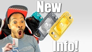 New Info Revealed For Nintendo Switch Lite