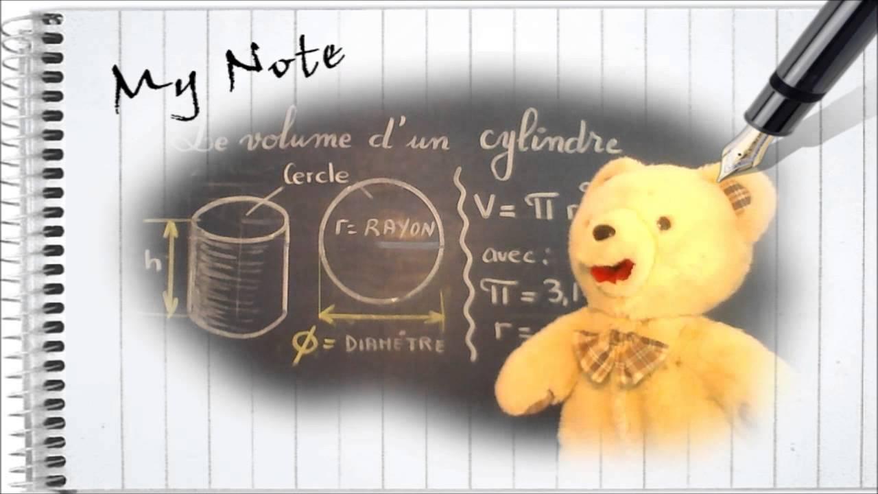 Calculer le volume d 39 un cylindre initiation g om trie for Calculer le volume d une maison