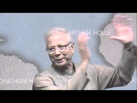 Muhammad Yunus: Social Business -- A Way to Solve Society