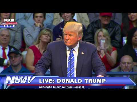 FNN: FULL Donald Trump in Raleigh, North Carolina