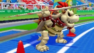 Mario and Sonic at the Rio 2016 Olympic Games (3DS) - All New Characters (Gameplay + Victory Poses)