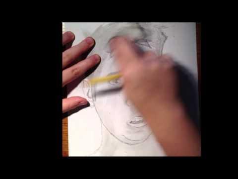 David Moss Drawing Lasercorn/david Moss Pencil