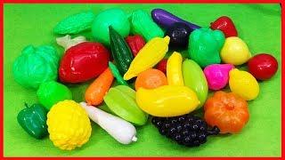 Đồ chơi trẻ em, đồ chơi trái cây cho bé, 20 loại trái cây rau củ, trò chơi đồ hàng (Chim Xinh)