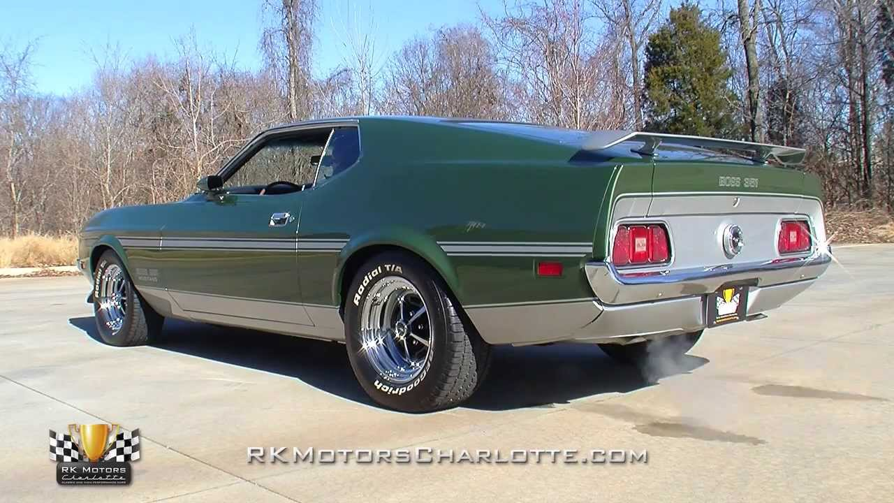 134669 1971 Ford Mustang Boss 351 Youtube