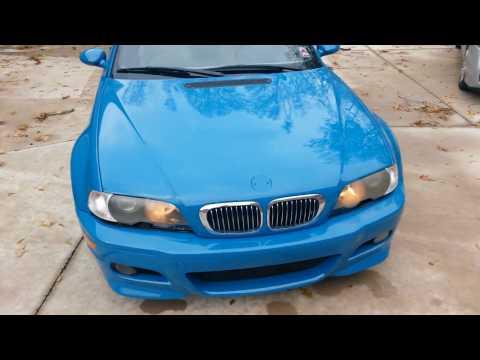 2004 BMW M3 E46 | CLEARCOAT FAILURE REPAIR LAGUNA SECA BLUE (PART 5 OF 5) WALKAROUND