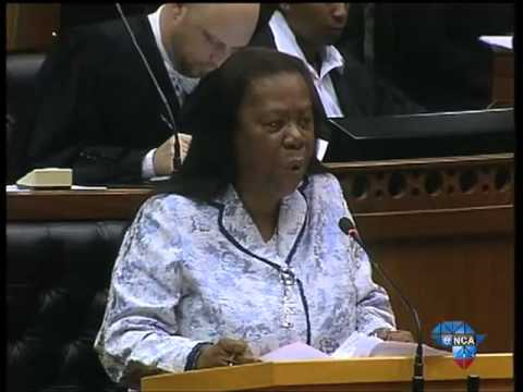 Gupta Debate: Opposition parties are afraid of the truth -- Pandor