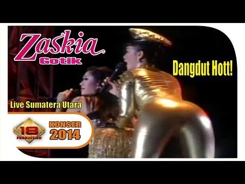 ZASKIA GOTIK - BUKA DIKIT JOSS  (LIVE KONSER SUMATERA UTARA 2014)